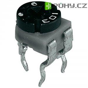 Uhlíkový trimr TT Electro, 601045, 500 kΩ, 0,1 W, ± 30 %
