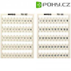 WMB karty pro označení WAGO Množství: 1 ks