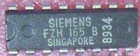 FZH165 - 4x převodník DTL / TTL, Siemens, DIP16