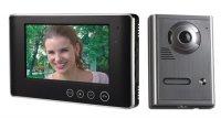 "OPTEX 990264 Barevný bezsluchátkový 7"" dveřní telefon"