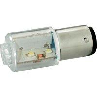LED žárovka BA15d Signal Construct, MBRD151614, 24 V, žlutá