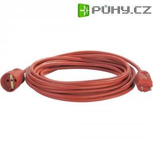 Prodlužovací kabel s ochrannou zástrčkou, 10 m, 16 A, červená