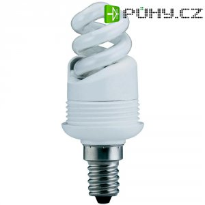 Úsporná žárovka spirálová Paulmann E14, 5 W, teplá bílá