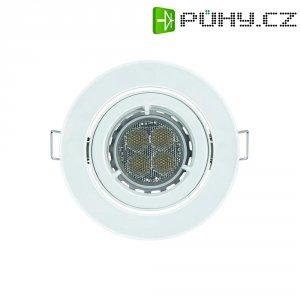 Vestavné světlo Osram KIT LED Pro, 9,5 W, kulatý, bílá/hliník