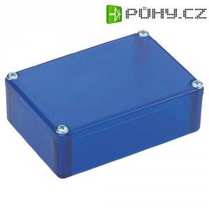 Plastové pouzdro Strapubox, (d x š x v) 72 x 50 x 26 mm, modrá