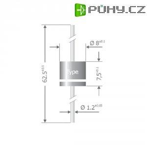 Usměrňovací dioda Diotec P 1000 J, U(RRM) 600 V, I(F) 10 A