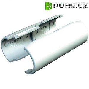 Spojka pro trubky OBO Bettermann Quick-Pipe, 2153833, M25, světle šedá