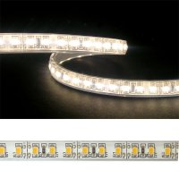 LED pásek 3528 120LED/m IP68 9.6W/m bílá teplá (1ks=2,5cm) voděodolný