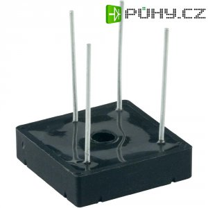 Můstkový usměrňovač Diotec B80/70-25L, U(RRM) 200 V, U(FM) 1,2 V, 25 A