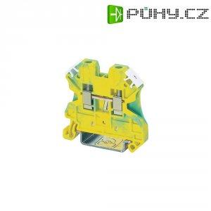 Svorka s ochr. vodičem Phoenix Contact UT 4-PE (3044128), šroubovací, 6,2 mm, zel.žlutá