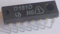 D181D - RAM 16bit, DIL14 /SN7481N/