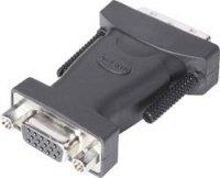DVI / VGA adaptér Belkin DVI-A vers VGA F2E4162cp, [1x DVI zástrčka 12+5pólová - 1x VGA zásuvka], černá