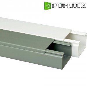 Elektroinstalační lišta Heidemann, 09966, 60x40 mm, 2 m, šedá