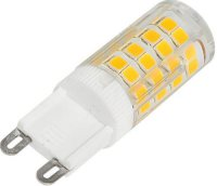 Žárovka LED G9, 51x SMD2835, 230VAC/3,5W, bílá teplá