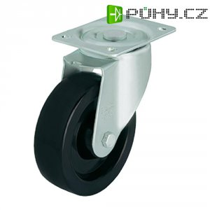 Tepelně odolné otočné kolečko s konstrukční deskou, Ø 150 mm, Blickle LI-PHN 150G