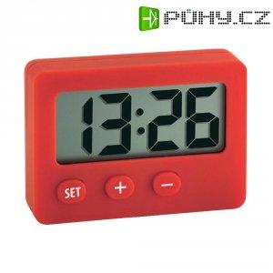 Digitální hodiny TFA, 60.2013.05, 43 x 60 mm, červená