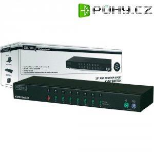 Přepínač KVM Digitus DC-IC818I-MC, 8 portů