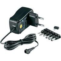 Síťový adaptér s redukcemi Goobay 67950, 3 - 12 V/DC, 600 mA
