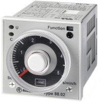 Multifunkční časové relé Finder 88.02.0.230.0002, 250 V/AC (AC1) , 2000 VA