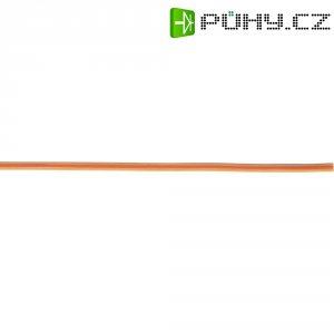 Plochý kabel k servu 5 m, Ø 3x 0,14, oranžová/modrá/červená