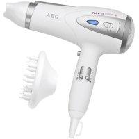 Fén na vlasy AEG HTD 5584, 2200 W, bílá, stříbrná