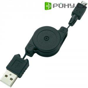 Nabíjecí kabel Roll Up, micro USB ? USB