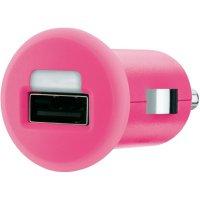USB nabíječka do auta Belkin F8J018cwPNK, růžová