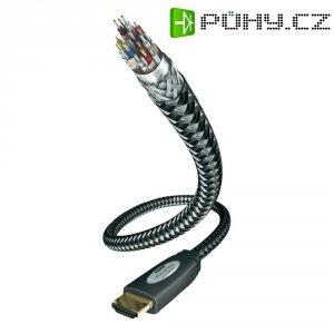 HDMI kabel s ethernetem, vidlice ⇒ vidlice, 7,5 m, černý, Inakustik