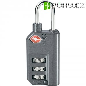 TSA visací zámek na heslo TSA LKOT-0768, 25 mm, šedá