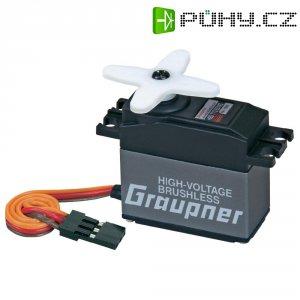 Standard Brushless servo digitální Graupner HBS 770 BB MG, JR konektor
