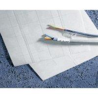 Značkovače kabelů Idento 5-1768016-4, samolepicí, 40 ks, 38 x 23 mm, bílá