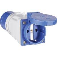 CEE-Cara adaptér PCE, 9433100, zástrčka 16 A ⇒ zásuvka schuko 16 A, 230 V, IP44