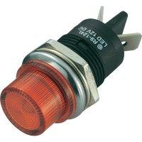 LED signálka SCI R9-124LB1-01-BRR4, LED signálka 20 mm, 12 V/DC, polyamid, červená
