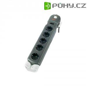 Zásuvková lišta s přepěťovou ochranou APC Performance, 1406764, 5 zásuvek, antracit