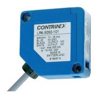 Reflexní optická závora Contrinex LRK-5050-103, kabel 3 m, dosah 800 mm