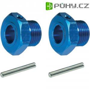 Unašeč kola 17 mm 6-hraný Reely MV107B, 1:8, modrý hliník, 2 ks