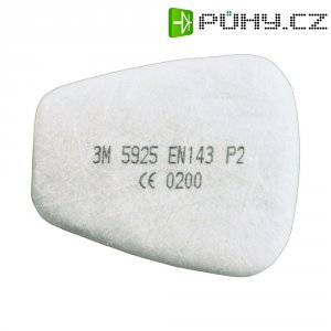 Respirační filtr 3M, EN 143, třída P2, 5925, 10 párů