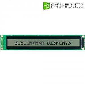 LCD displej Gleichmann, GE-C4002A-TFH-JT/R, 13,6 mm, bílá/černá