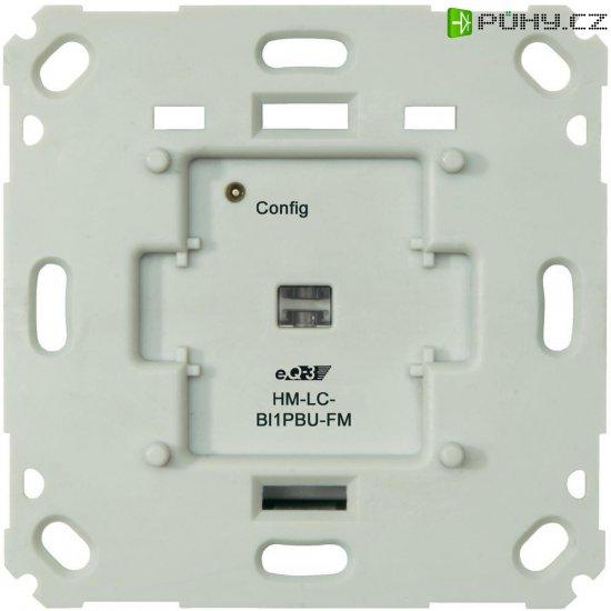 Bezdrátový spínač pod omítku HomeMatic HM-LC-Sw1PBU-FM 103029 1kanálový - Kliknutím na obrázek zavřete