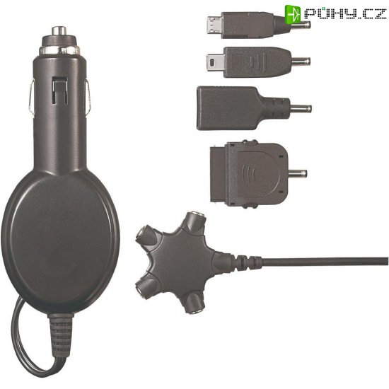 USB nabíječka do auta univerzální Voltcraft SMP5-10W - Kliknutím na obrázek zavřete