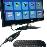 HDMI smart TV a mini PC Point of View TV-HDMI-200BT, Android 4.1, 2x 1,6 GHz