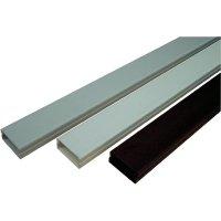 Elektroinstalační lišta s krytem OBO Bettermann, 6189466, 15x40 mm, 2 m, šedá