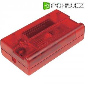 Kabelový stmívač Ehmann, 2502c0000rt-t, 230 VAC, 20 - 400 W, červená