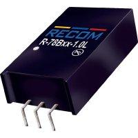 DC/DC měnič Recom R-78B9.0-1.0L (80000026), výstup 9 V/DC / 1 A, vstup 12 - 34 V/DC, SIP 3, 90°