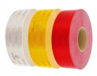 Reflexní páska bílá, šíře 50mm