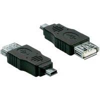 Adaptér Delock USB 2.0, černý, OTG