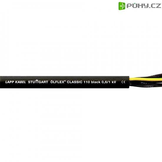 Datový kabel LappKabel Ölflex CLASSIC 110, 7 x 0,75 mm², černá, 1 m - Kliknutím na obrázek zavřete