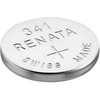 Knoflíková baterie 341 Renata, SR714, na bázi oxidu stříbra