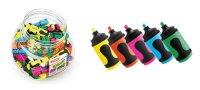 Fix zvýrazňovač mini Edding 5 barev - displej 100 ks