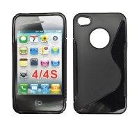 ForCell Zadní Kryt Lux S Black pro Apple iPhone 4/4S